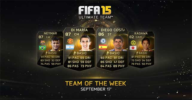 FIFA 15 Ultimate Team - TOTW 1