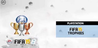 All the FIFA 15 Trophies for Playstation 3 and Playstation 4