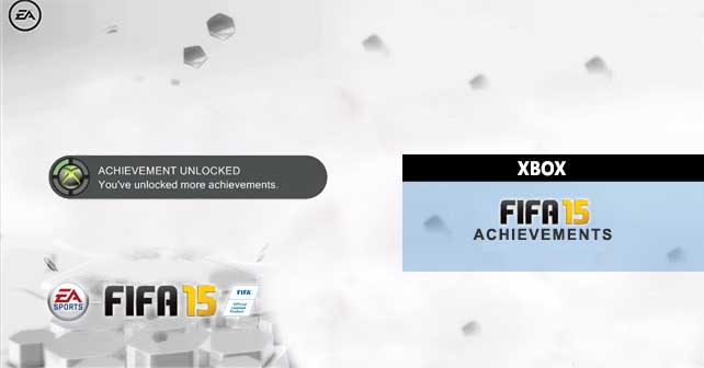 All the FIFA 15 Achievements for XBox 360 and XBox One