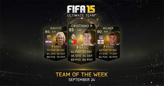 FIFA 15 Ultimate Team - TOTW 2