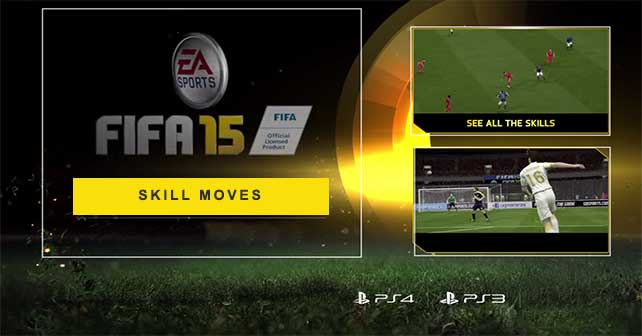 All the FIFA 15 Skill Moves for Playstation