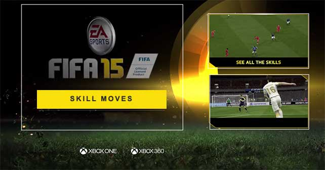 All the FIFA 15 Skill Moves for XBox