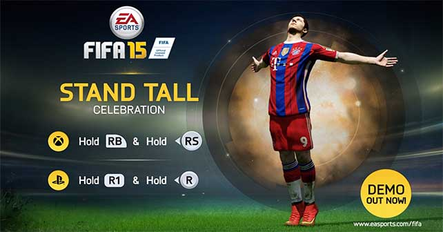 How to Perform all the FIFA 15 Celebrations for XBox