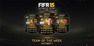 FIFA 15 Ultimate Team - TOTW 3