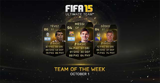 FIFA 15 Ultimate Team - TOTW 3