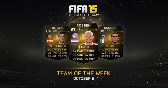 FIFA 15 Ultimate Team - TOTW 4