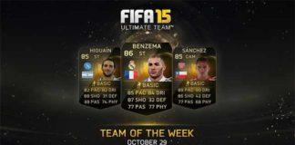 FIFA 15 Ultimate Team - TOTW 7