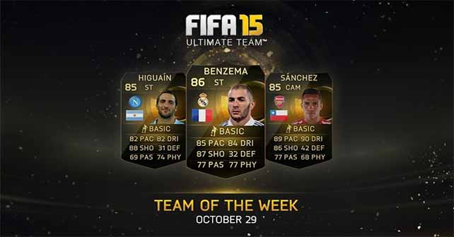 FIFA 15 Ultimate Team - TOTW 7