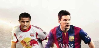 Tim Cahill joins Messi on the FIFA 15 cover for Australia