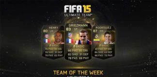 FIFA 15 Ultimate Team - TOTW 8