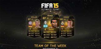 FIFA 15 Ultimate Team - TOTW 9