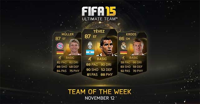 FIFA 15 Ultimate Team - TOTW 9