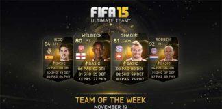 FIFA 15 Ultimate Team - TOTW 10
