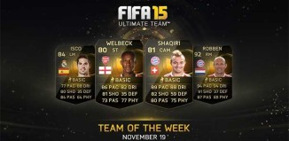FIFA 15 Ultimate Team - TOTW 10