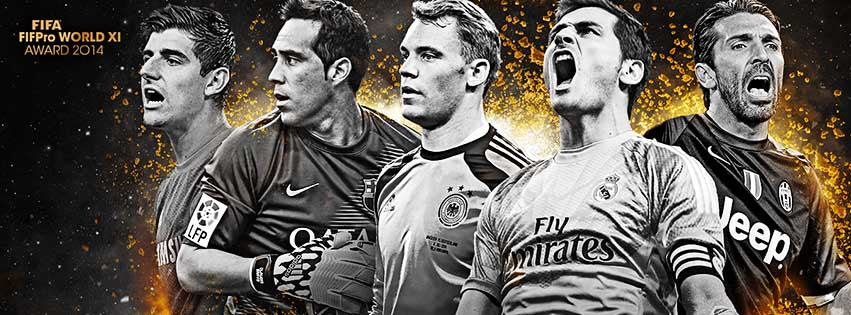 FIFA 15 Ultimate Team TOTY Goalkeepers Shortlist