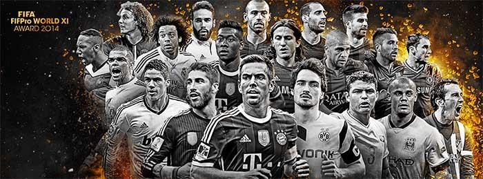 FIFA 15 Ultimate Team TOTY Defenders Shortlist