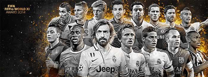 FIFA 15 Ultimate Team TOTY Midfielders Shortlist