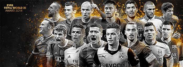 FIFA 15 Ultimate Team TOTY Forwards Shortlist