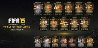 FIFA 15 Ultimate Team - TOTW 12