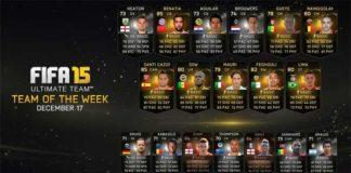 FIFA 15 Ultimate Team - TOTW 14