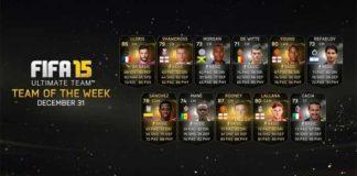 FIFA 15 Ultimate Team - TOTW 16