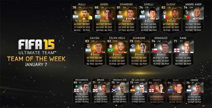FIFA 15 Ultimate Team - TOTW 17