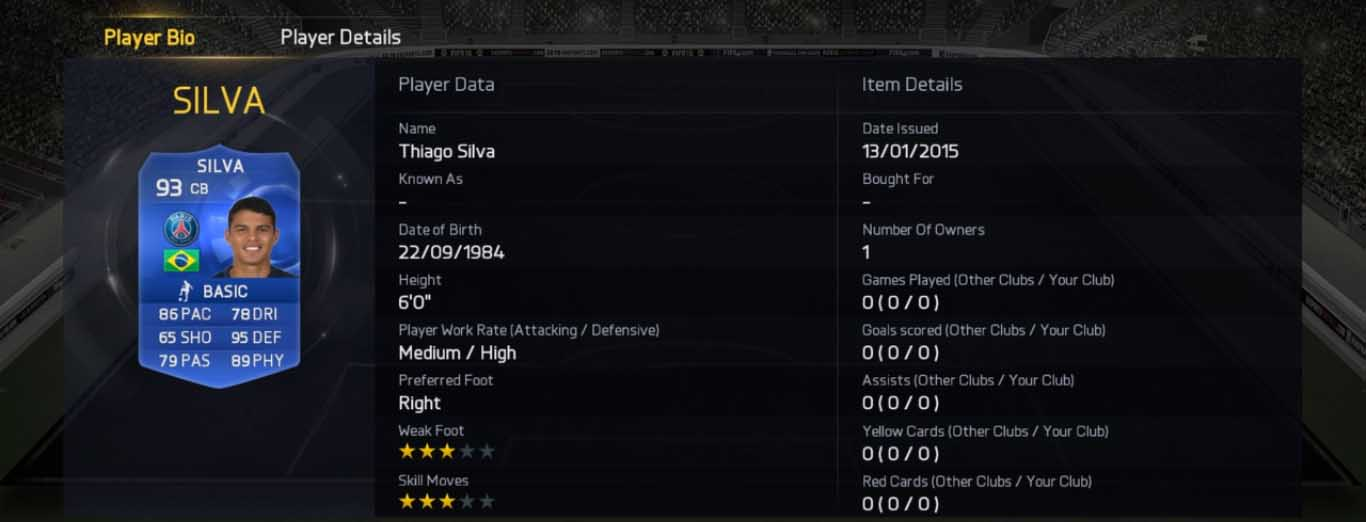 FIFA 15 TOTY Goalkeeper and Defenders Available in Packs Now