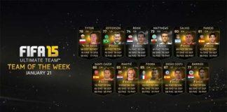 FIFA 15 Ultimate Team - TOTW 19
