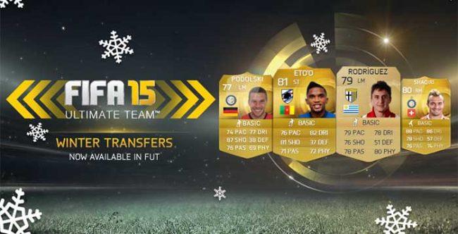FIFA 15 Ultimate Team Winter Transfers: Fourth Batch