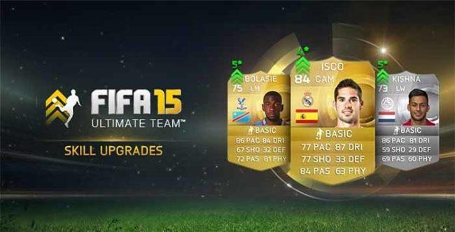 FIFA 15 Player's Skill Upgrades