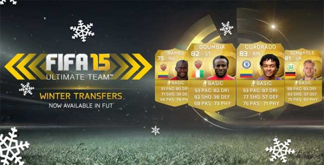 FIFA 15 Ultimate Team Winter Transfers: Fifth Batch
