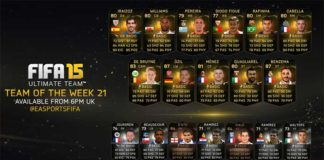 FIFA 15 Ultimate Team - TOTW 21