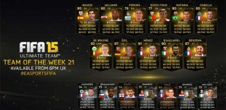 FIFA 15 Ultimate Team - TOTW 21