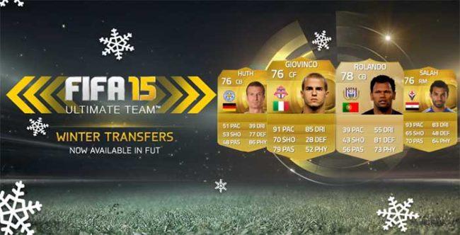 FIFA 15 Ultimate Team Winter Transfers: Sixth Batch