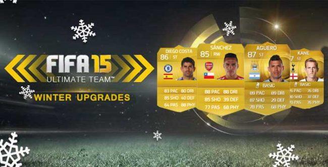 FIFA 15 Ultimate Team Winter Upgrades