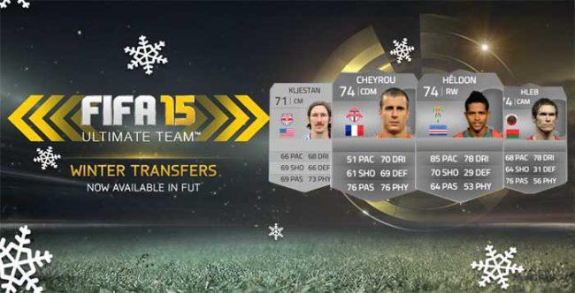 FIFA 15 Ultimate Team Winter Transfers: Seventh Batch