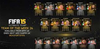 FIFA 15 Ultimate Team - TOTW 24