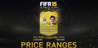 Price Ranges Added to FUT 15