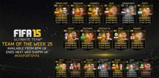 FIFA 15 Ultimate Team - TOTW 25