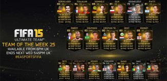 FIFA 15 Ultimate Team - TOTW 25