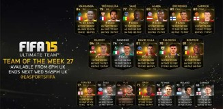 FIFA 15 Ultimate Team - TOTW 27
