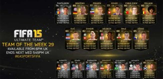 FIFA 15 Ultimate Team - TOTW 29