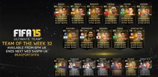 FIFA 15 Ultimate Team - TOTW 32