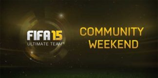 FUT 15 Community Weekend