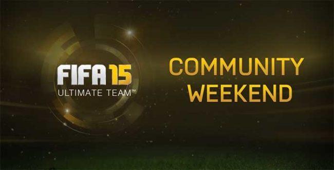 FUT 15 Community Weekend