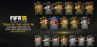 FIFA 15 Ultimate Team - TOTW 36