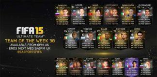 FIFA 15 Ultimate Team - TOTW 38