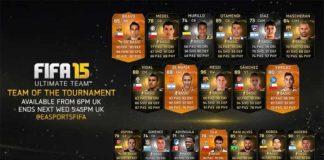 FIFA 15 Team of the Tournament Copa America