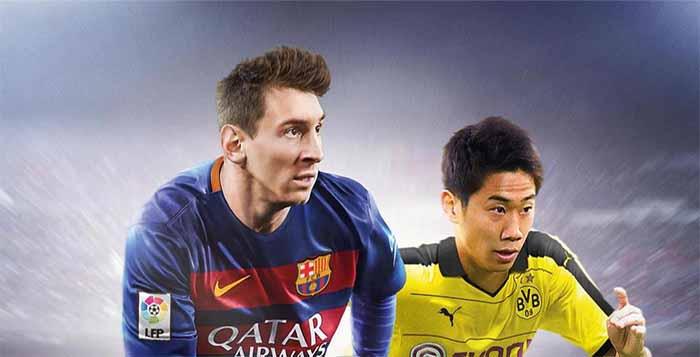 Shinji Kagawa joins Messi on the Japanese FIFA 16 cover