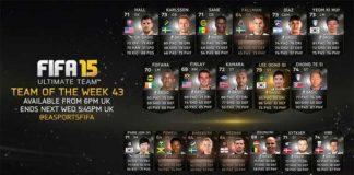 FIFA 15 Ultimate Team - TOTW 43